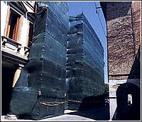 Filets de ravalement de façade