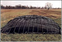 Filets de protection des silos